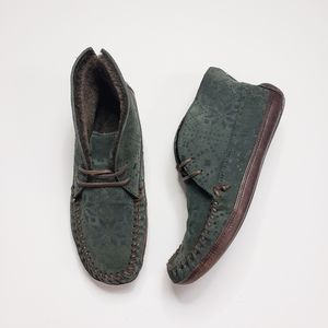 Frye Morgan Chukka Moccasin Slipper Ankle Boots